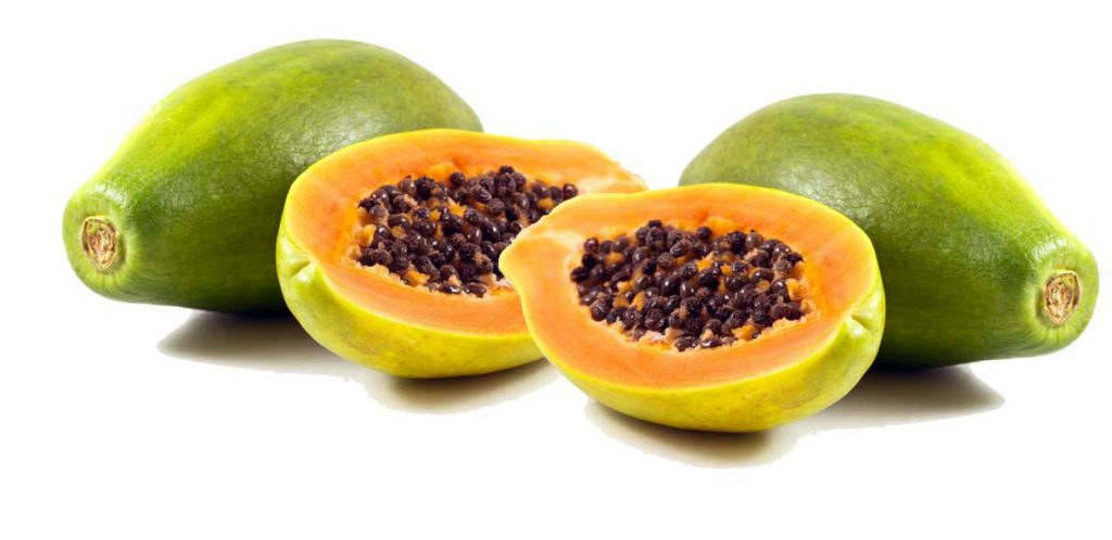 Buah merah, Papaye, mangue, fruits de la passion sont riches en ß cryptoxanthine
