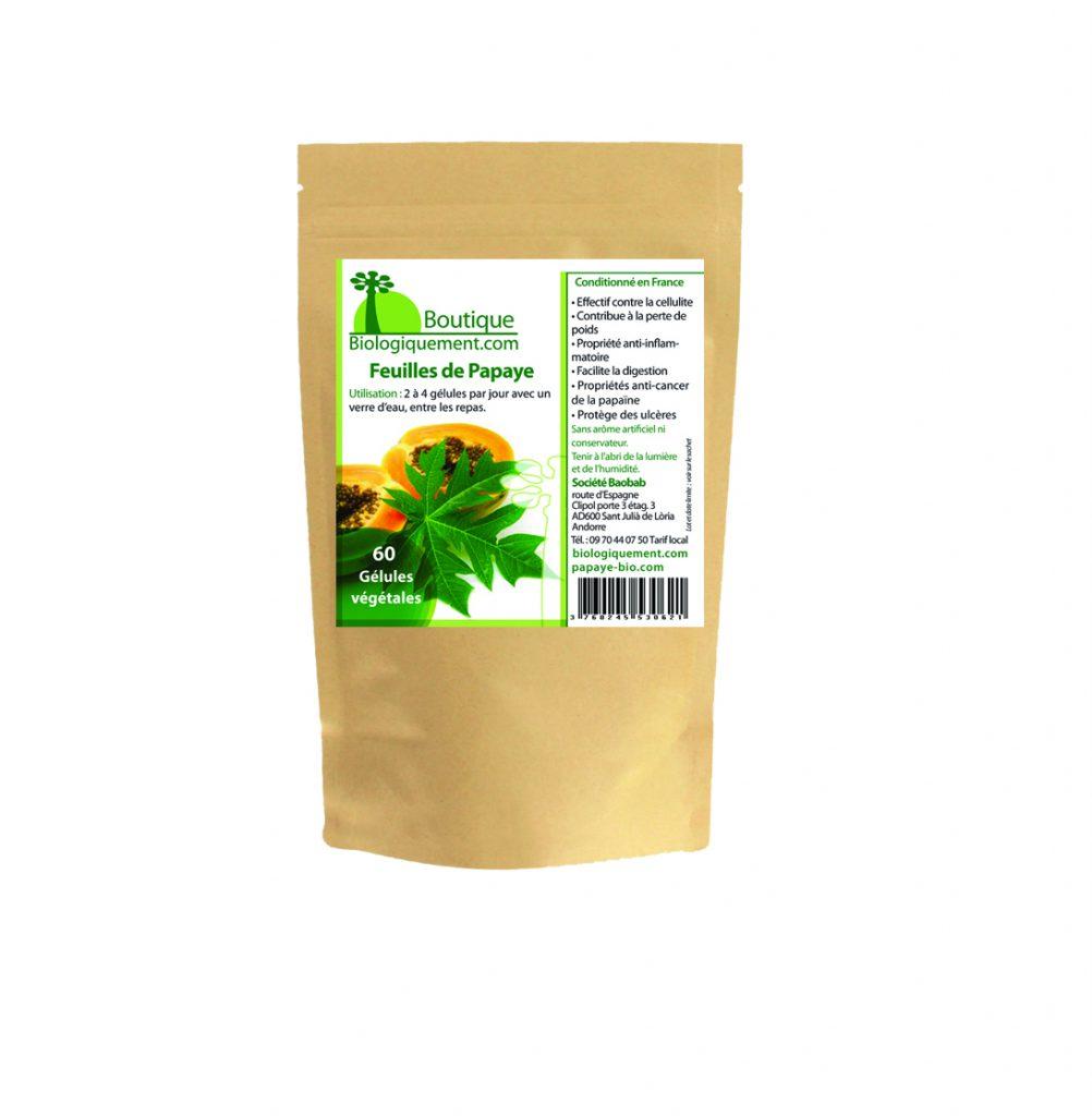 Achetez des feuilles de papaye, les feuilles de papaye bio possèdent des propriétés puissantes qui aident à lutter contre le cancer.
